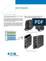 Eaton Maintenance Bypass Application Note En