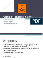 10.7.09 Williams Fulminant Hepatic Failure