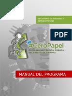 Manual Programa Cero-papel
