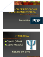 Definición de Psicología