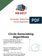 ME401T CAD Circle Algorithm - 4