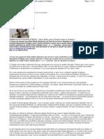 Tchad  Idriss Deby pion d'Israël contre le Soudan !