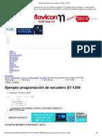 Ejemplo Programación de Secadero S7-1200 - InfoPLC