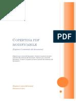 Copertina PDF Modificabile