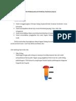 Proses Pemasangan Portal Rangka Baja
