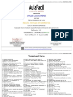 Certificado Ingles - Gramática