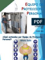 Uso de Equipo de Proteccion Personal