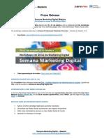 Press Release Semana MarKeting Digital Madeira 360 - 2016
