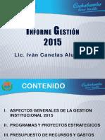 Informe Gestion 2015 a Organizaciones Sociales (1)
