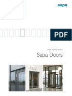 Sapa ion Brochure Doors