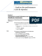 Analyse Des Performances Du Serveur