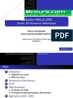 Application Web Et J2EE Servlet JSP Persistence MEthodologie
