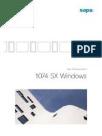 Sapa New Window Low E-Value