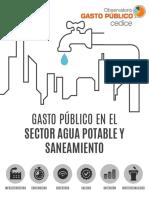 Gasto Público en El Sector de Agua Potable en Venezuela