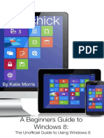 A Beginners Guide to Windows 8