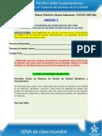 Actividad de Aprendizaje Unidad 2 Clases de Sistemas de Gestion UNIDAD