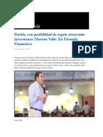 04-10-2016 Grupo Fórmula - Puebla, Con Posibilidad de Seguir Atrayendo Inversiones; Moreno Valle. en Fórmula Financiera