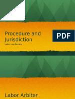 Labor Law Rev Report jurisdiction