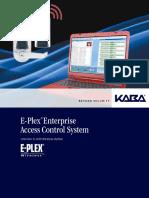 e Plex Enterprise Software With Wireless Option Brochure Kaa1252