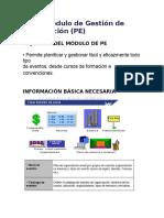 PE - Gestión de Eventos - Resumen