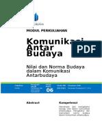Nilai dan Norma Budaya.doc