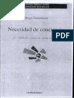 Zemelman_Necesidad de Conciencia-Un Modo de Construir Conocimiento