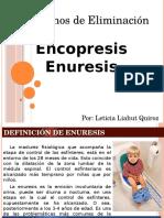 Trastornos de Eliminacion Encopresis Enuresis