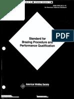 Aws b2.2 1991 Standard Brazing Procedure&Perform Qualifications