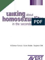homosexuality in school