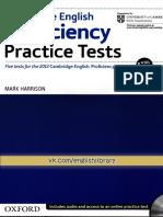 Proficiency Practice Tests 2012