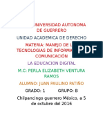 UNIVERSIDAD AUTONOMA DE GUERRERO tic uagro.docx