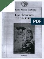 Flores, Galindo Alberto - Los Rostros de La Plebe