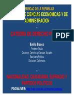 10.Tema.nacionalidad Ciudadania, Sufragio y Partidos Politicos