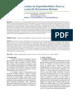 Uso de Materiales de Superhidrofóbico Para La Protección De Estructuras Marinas