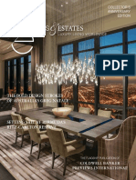 Coldwell Banker Previews International Homes & Estates Magazine. Luxury Living Worldwide