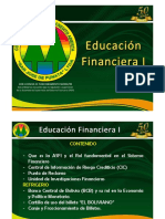 Educacion Financiera i 2014