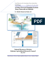 Feasibility of Solar Powered Pumping Systems for Deep Tubewells in Pakistan (1)