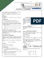 Multiplos y Divisores
