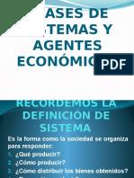 Clases de Sistemas y Agentes Económicos