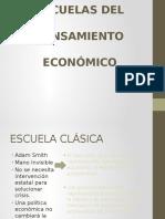 Escuelas Del Pensamiento Económico