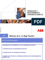 MANTEMINIENTO MOTORES DIRECTA ABB.ppt