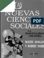 Las Nuevas Ciencias Sociales. La marginalidad creadora