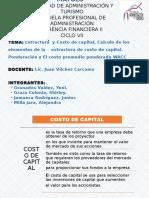 Costo de Capital en Acciones Comunes