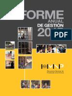 El Mecanismo Nacional de Prevención de la Tortura (MNP)  informe anual 2015