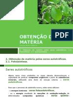 Bio U1 Fotossíntese