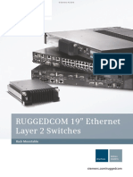 Ruggedcom Ethernet Layer 2 Switches En