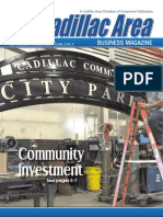 September/October 2016 Cadillac Area Business Magazine