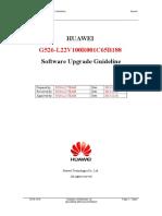 HUAWEI G526-L22 V100R001C65B188 Software Upgrade Guideline