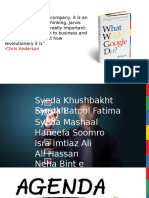 What Would Google Do-book Presentation