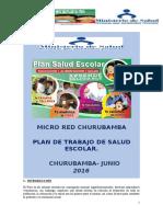 Plan Salud Escolar -Churubamba - Junio